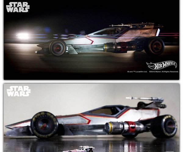 Hot Wheels Creates Real Life X-Wing Race Car