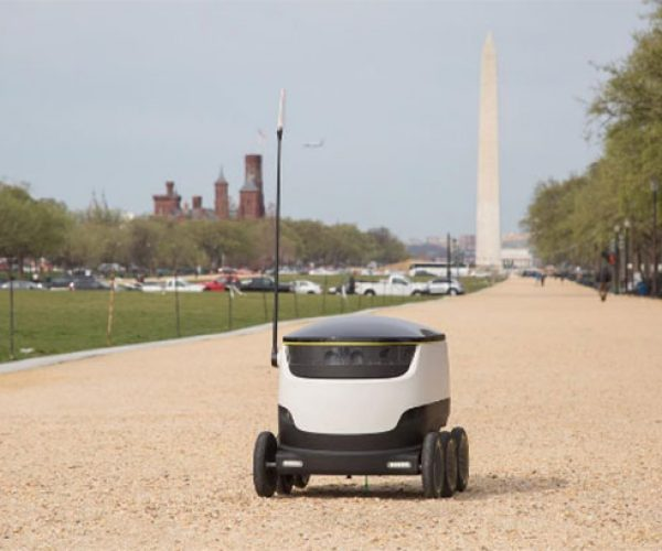 Starship Technologies Autonomous Delivery Robots Bring the Autom-noms