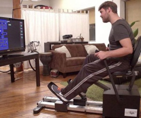 Symgym Gives You a Workout While Playing Video Games