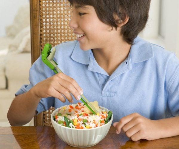 T-Rex Chopsticks Crush, Crumble, and Chomp Your Food