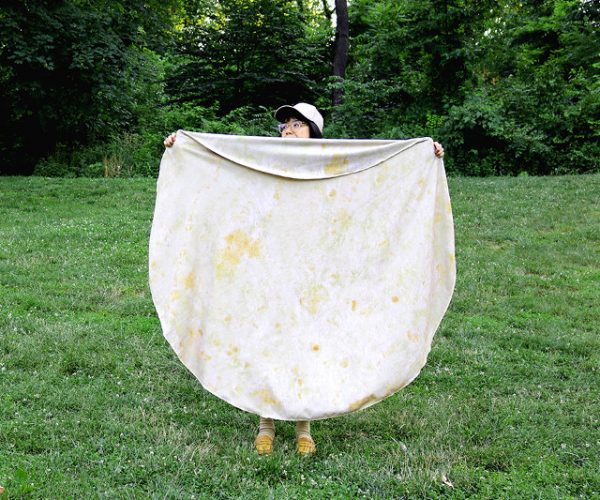 The Giant Tortilla Towel Is Perfect for Burrito Beach