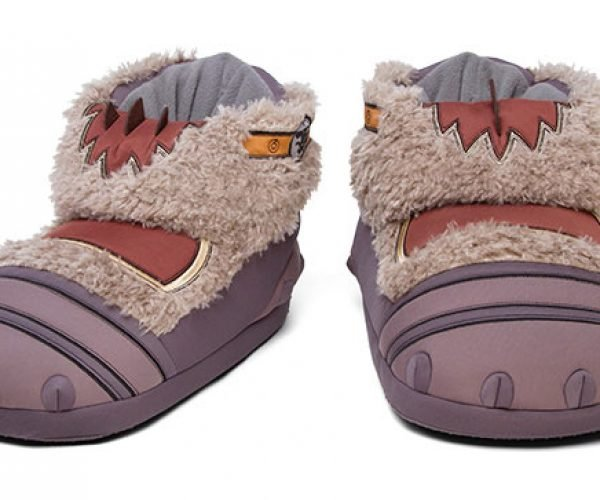Warcraft Durotan Plush Slippers Look Cooler Than the Movie
