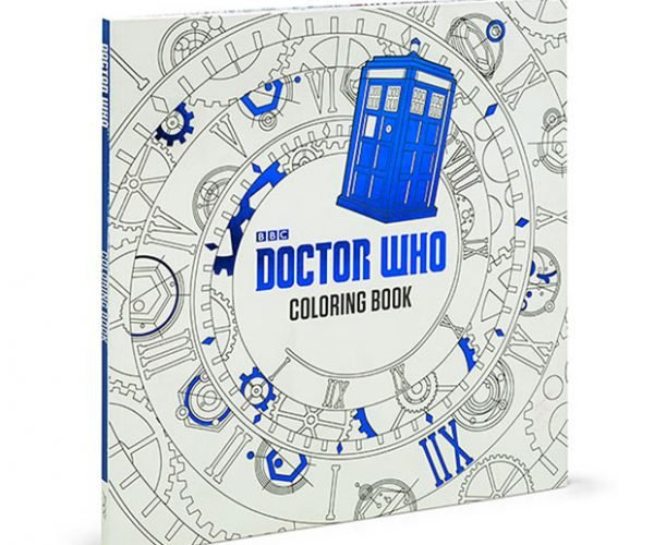 Doctor Who Coloring Book is for Bored Time Lords