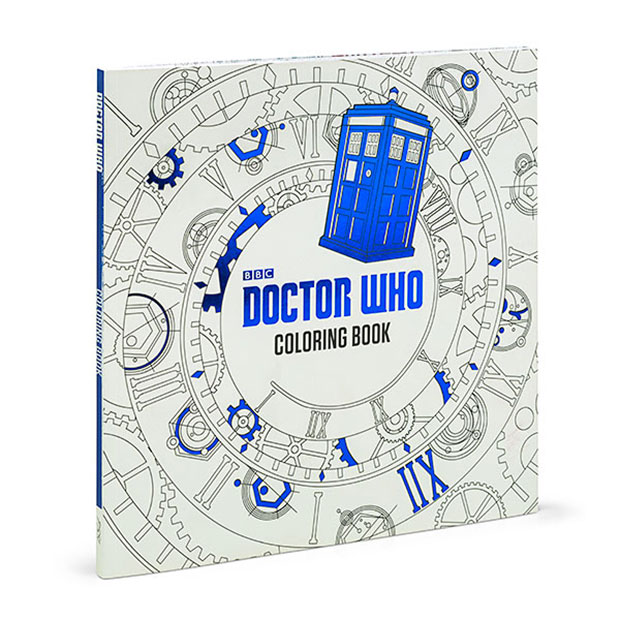 The Doctor Who Coloring Book Has 96 Pages Packed With Line Art Images From Franchise You Can Color TARDIS Several Companions