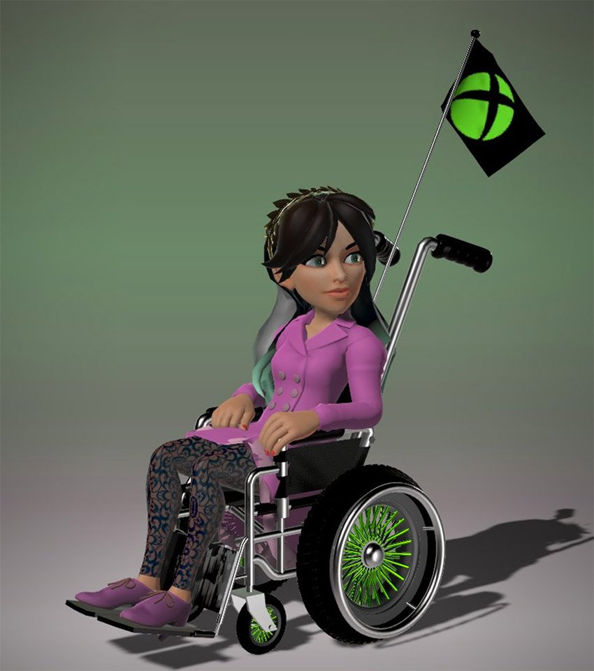 Microsoft Is Adding A Wheelchair Option To Xbox Avatars