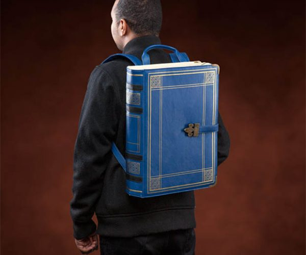 Olde Book Backpack: Paperbackpack