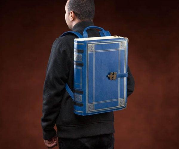 Olde Book Backpack: Paperbackpack