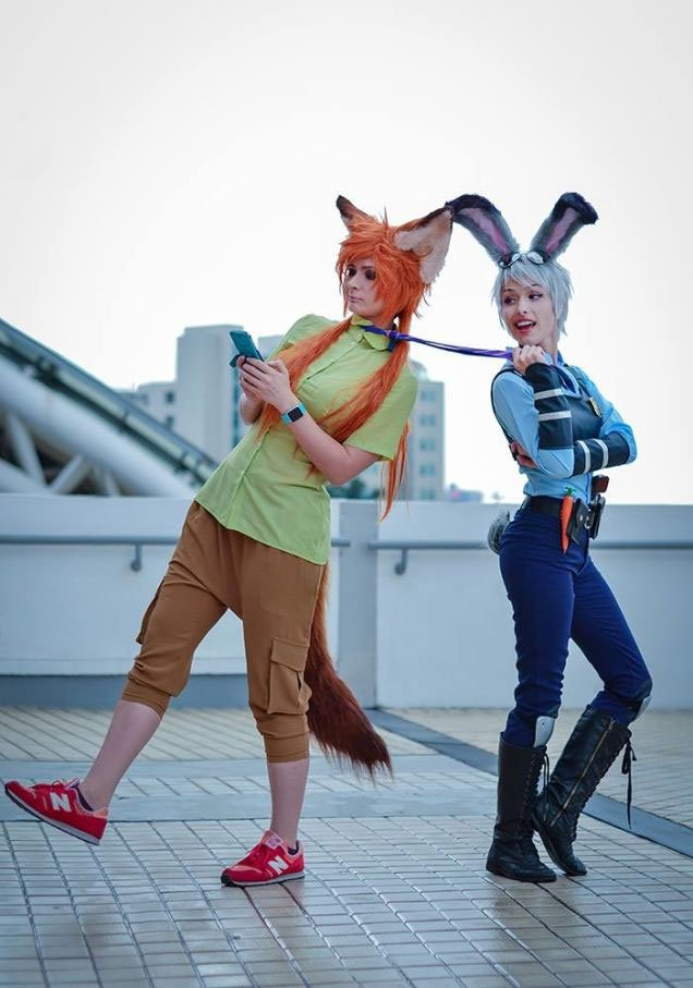 Image result for zootopia cosplay -pinterest