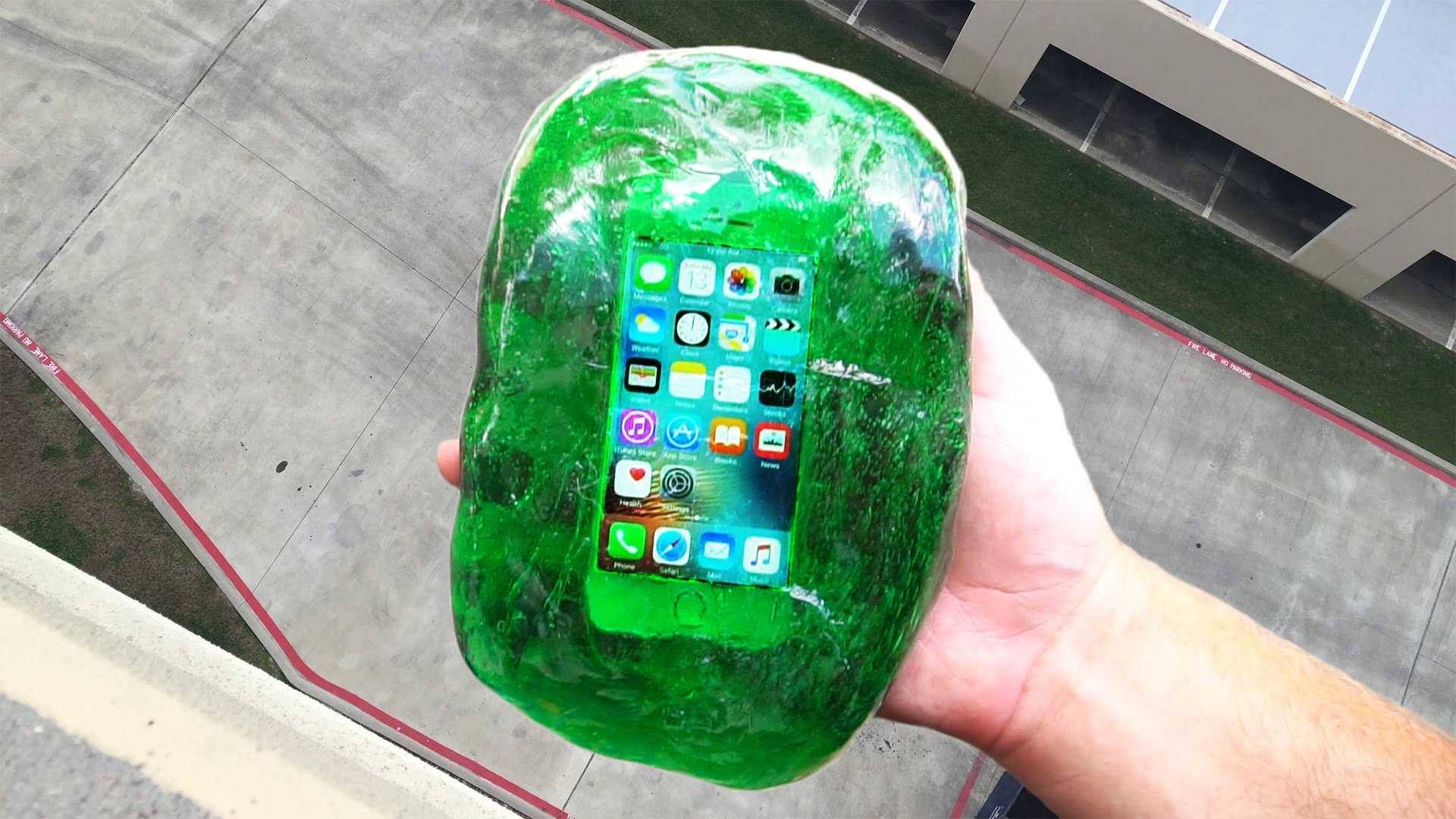Can Flubber Protect an iPhone SE from a 100 Foot Drop?