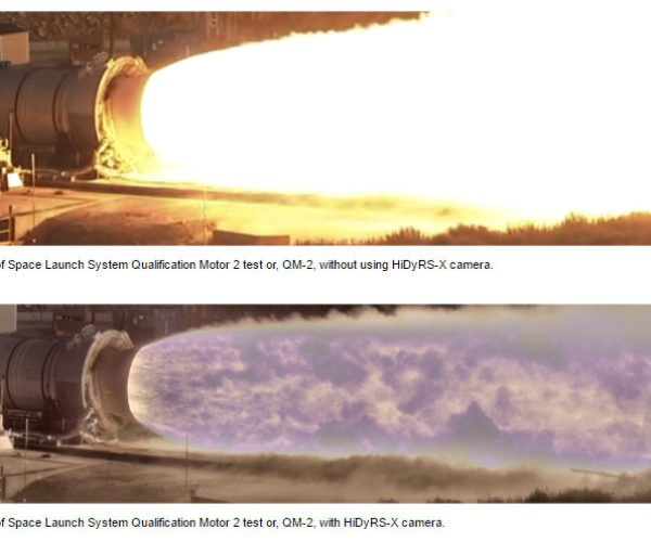 NASA HiDyRS-X Camera Reveals New Detail in Rocket Plumes