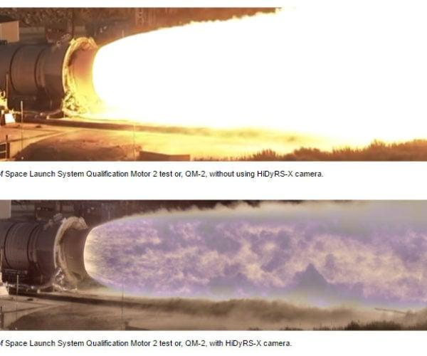 NASA HiDyRS-X Camera Reveals New Detail in Rocket Plumes