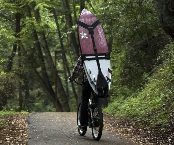 Koraloc Backpack Will Carry Three Surfboards on Your Aching Back