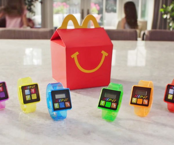 Mcdonald's Offering Activity Trackers with Happy Meals