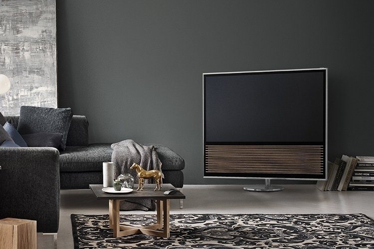 bang olufsen beovision 14 tv a 4k display with class technabob. Black Bedroom Furniture Sets. Home Design Ideas