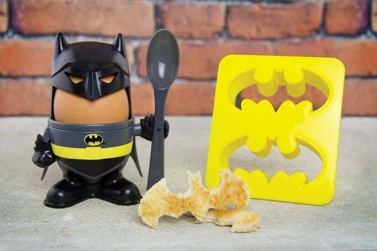 Batman Egg Cup: Hard Boiled Detective Comics - Technabob