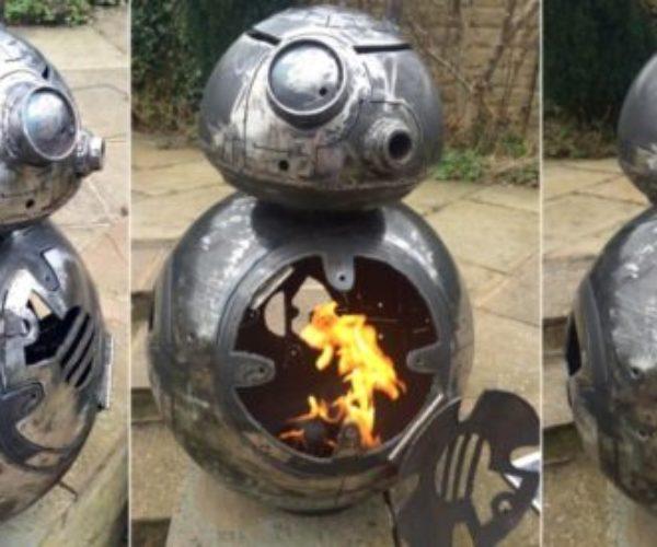 BB-8 Fire Pit: Pyro-Mech Droid