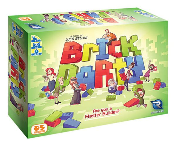 Brick Party Board Game: LEGO My Thumbs