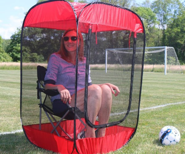 Pop-Up Insect Screen Chair Tent Debugs Your World  sc 1 st  Technabob & tent
