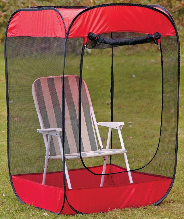Pop Up Insect Screen Chair Tent Debugs Your World Technabob