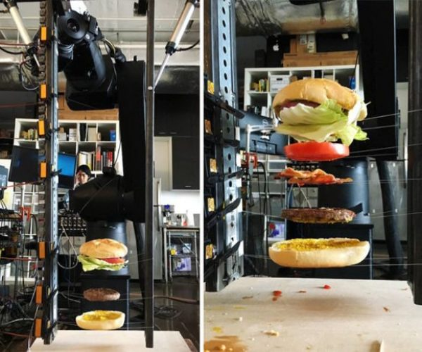 "The Perfect ""Burger Drop"" Created Without CGI"