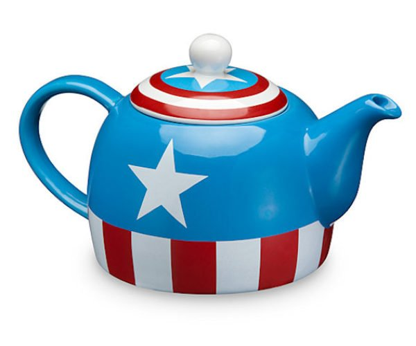 Captain America Teapot: The Thirst Avenger