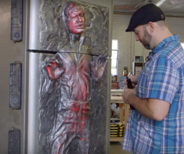 Frank Ippolito Builds Han Solo Frozen in Carbonite Refrigerator