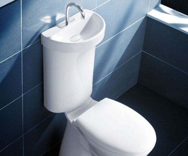 The Home Toilet Sink: Just Like in Prison!