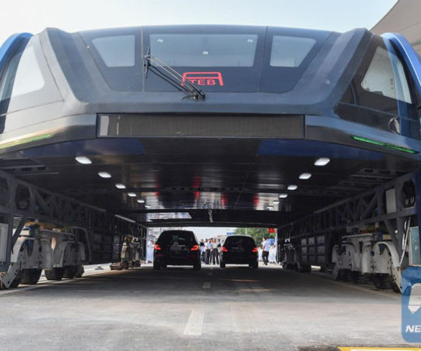 China Actually Built That Crazy Monster Bus