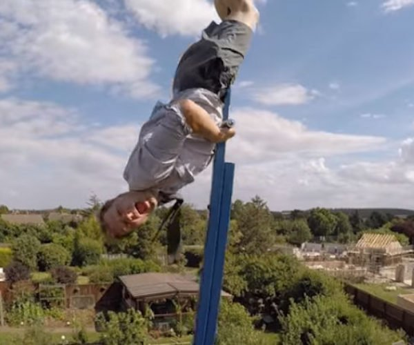 Colin Furze Builds 360 Swing as Tall as His House