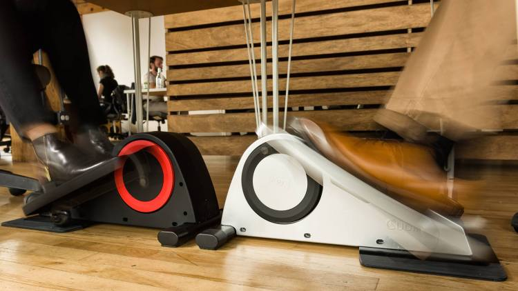 Cubii Sits Under Your Desk Lets You Exercise At Work