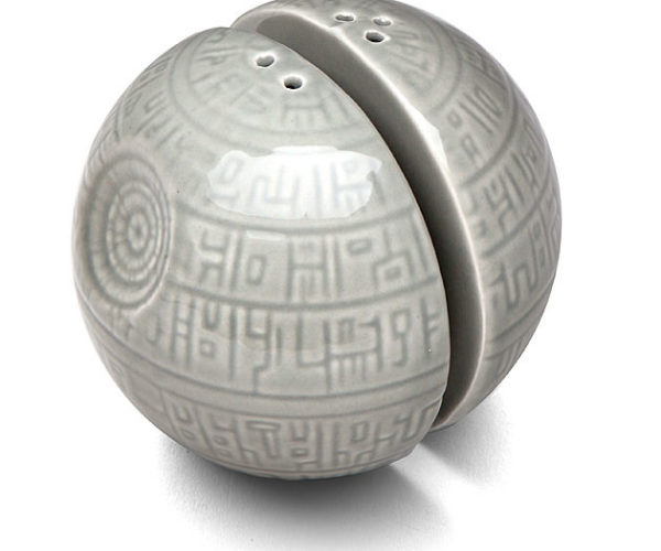 Death Star Salt and Pepper Shakers: The Ultimate Power on the Dining Table