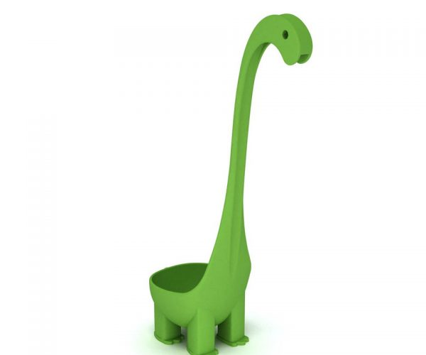 Dinosaur Ladle: For Cream of Brachiosaurus Soup