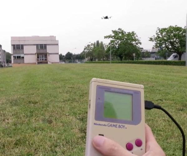 Game Boy Controls a Drone: Nintendrone