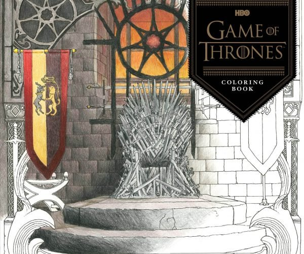 Game of Thrones Coloring Book Stabs Boredom in the Heart