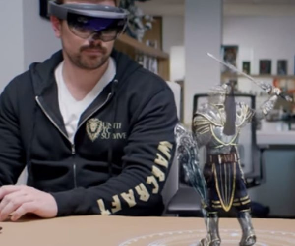 Microsoft and Legendary to Bring Interactive Movie Characters to HoloLens