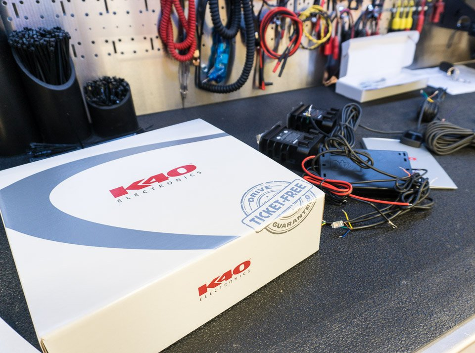 Review & Install: K40 RL360i Radar Detector & Optix Laser ... on