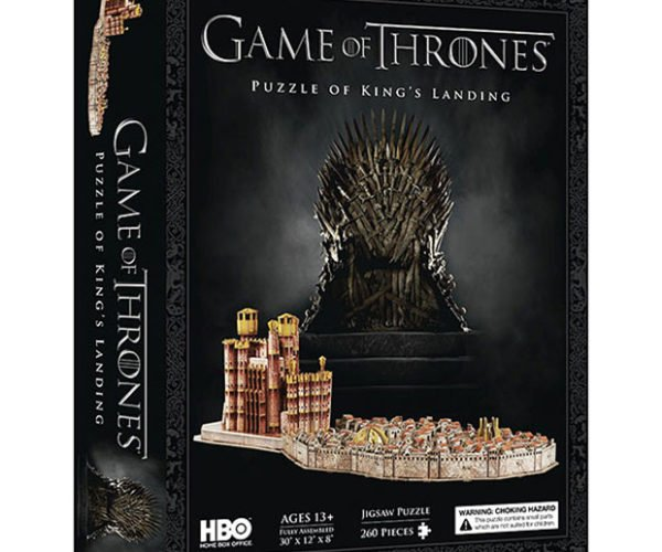 King's Landing Puzzle is 3D and Explodable