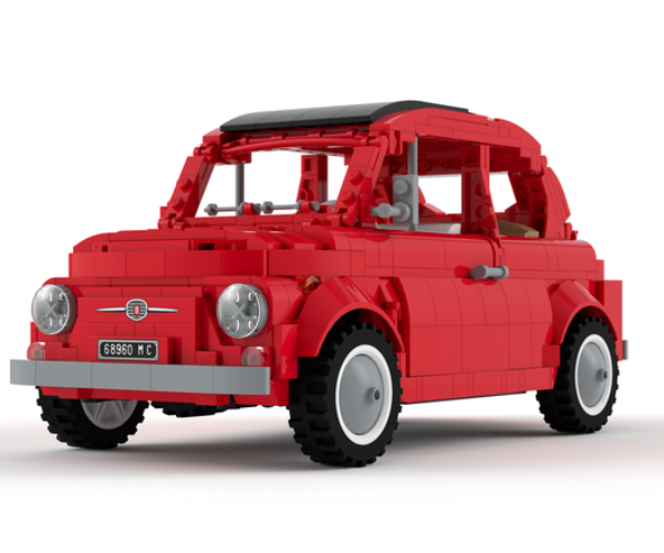 This LEGO Fiat 500 F Needs Your Votes