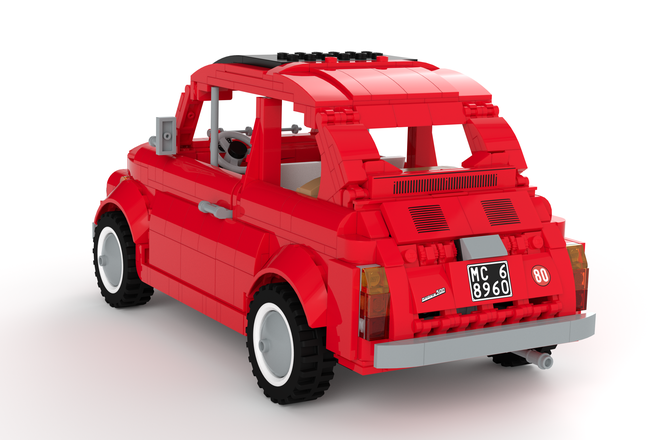 this lego fiat 500 f needs your votes technabob