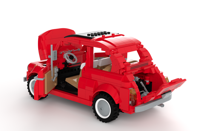this lego fiat 500 f needs your votes technabob. Black Bedroom Furniture Sets. Home Design Ideas