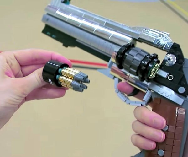 LEGO Overwatch McCree's Revolver Keeps the Peace