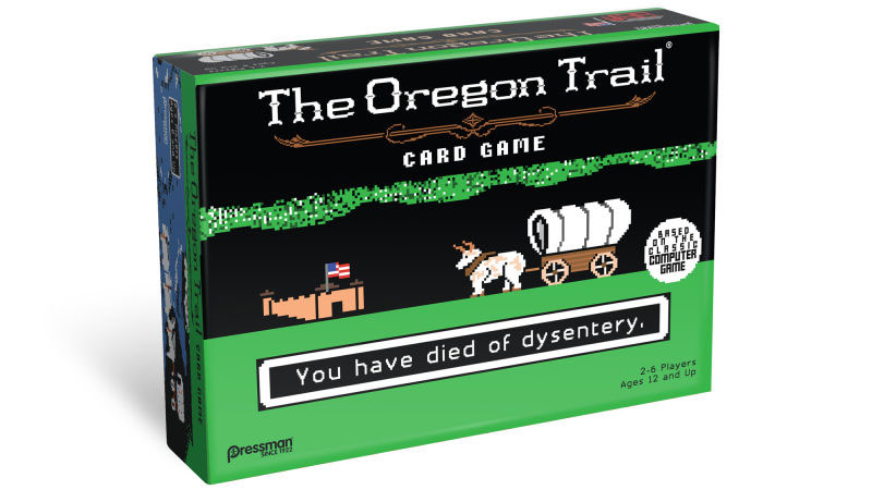Recently a card game based on the old Oregon Trail released to much support from the board game community.