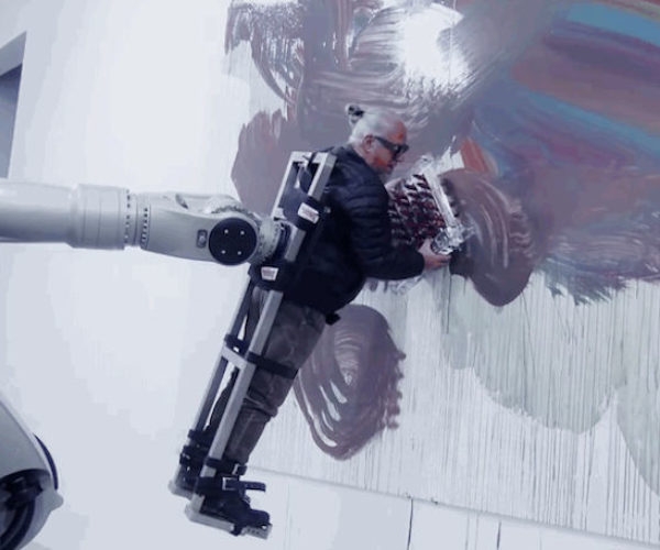 This Robot Is Spinning a Human Paintbrush