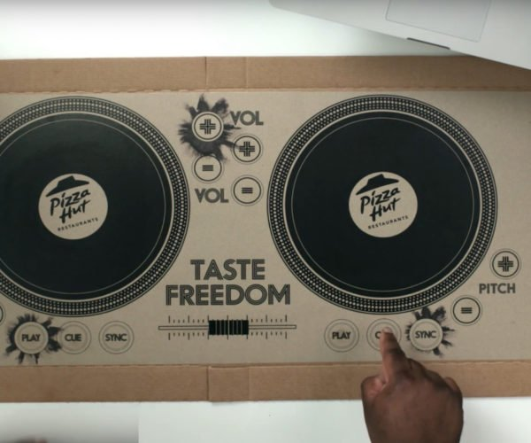 Pizza Hut Reveals DJ Pizza Box: Eat to the Beat