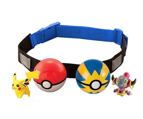 Clip 'n' Carry Poké Ball Belt Catches Your Pants