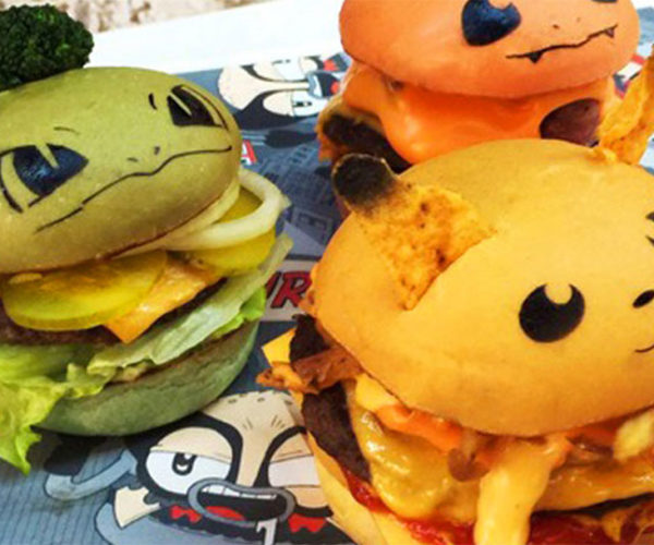 Pokémon Hamburgers Land in Sydney: Junk Food, I Choose YOU!