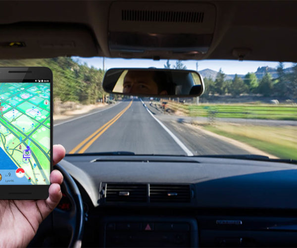 Pokémon GO Updated with Driving Warnings