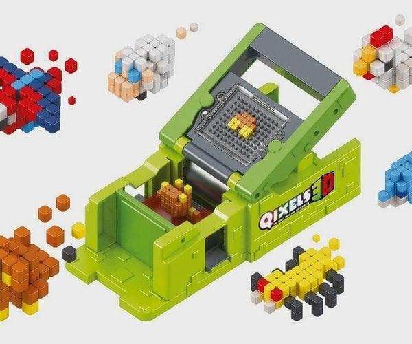 Qixels 3D Maker Teaches Kids About 3D Printing