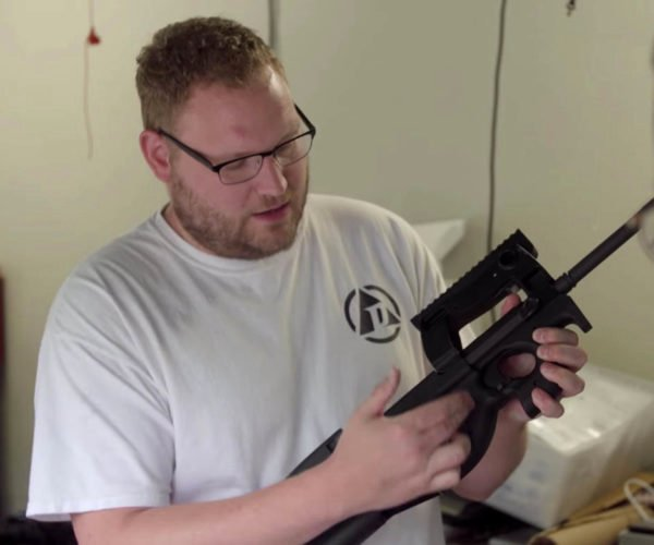 Guy Builds RFID Implant-activated Smart Gun