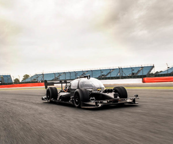 Roborace's DevBot Prototype for Self-driving Race Cars
